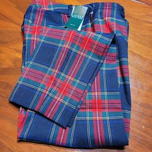 """NEW LISTING"" Ralph Lauren Plaid Pants 2P"